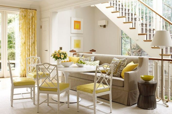 Mix And Chic Home Tour A Chic And Colorful San Francisco S Home Banquette Dining Dining Room Inspiration Home