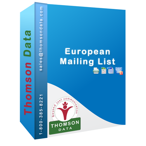 Thomson Data European B2B executives lists, Europe IT email list and Mailing lists offers you more than just a  comprehensive mailing list. More than 60% Europeans prefer to be contacted through a combination of email, telephone and postal mail.