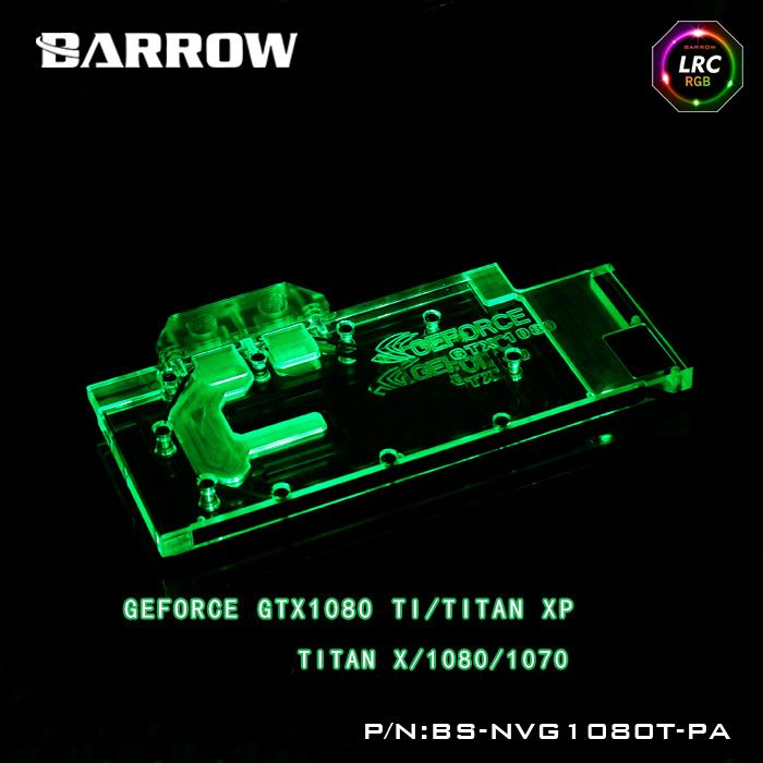 Barrow Lrc Rgb V1 V2 Full Cover Graphics Card Water Cooling Block