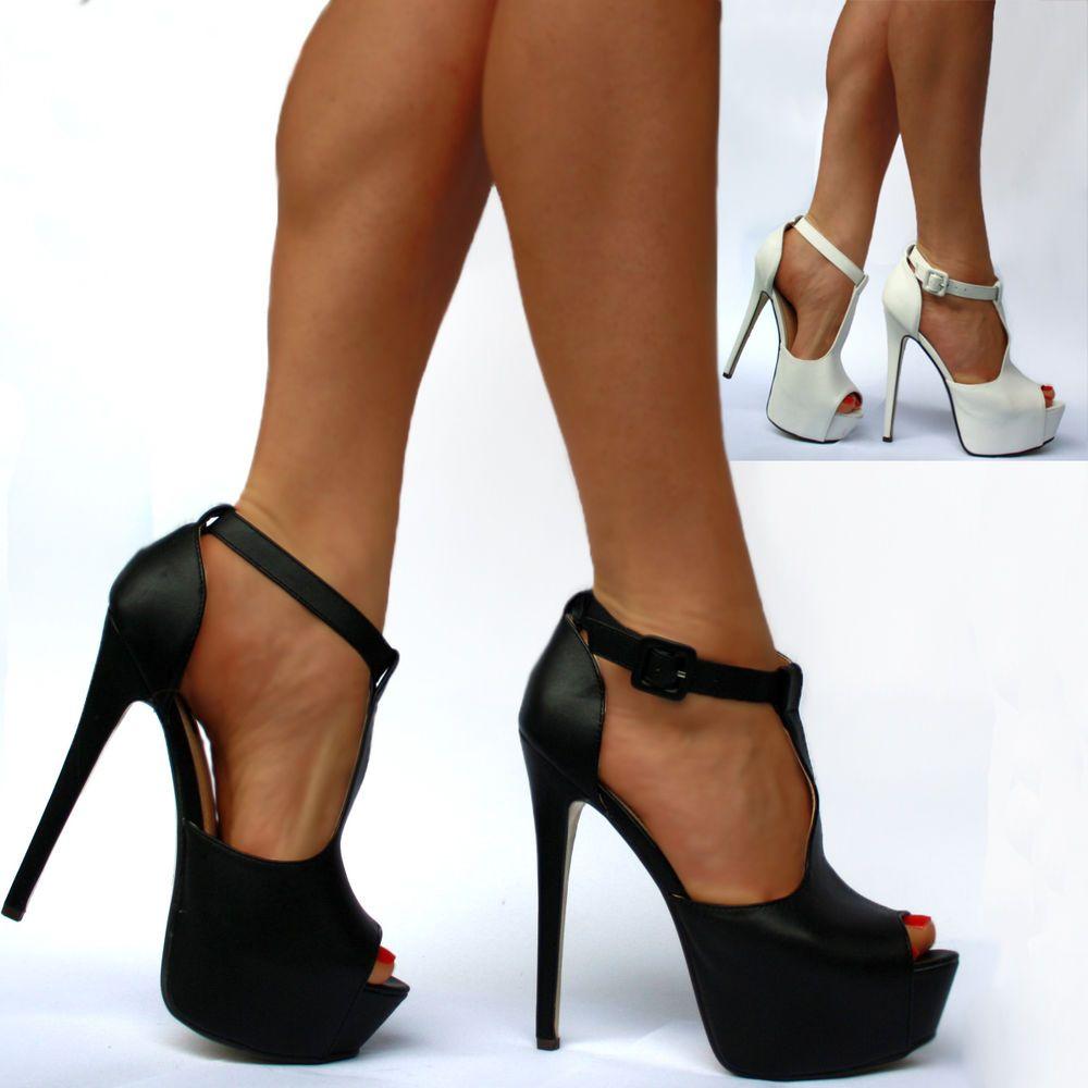 Luxus Damen Schuhe Neu Designer Pumps High Heels Plateau ...