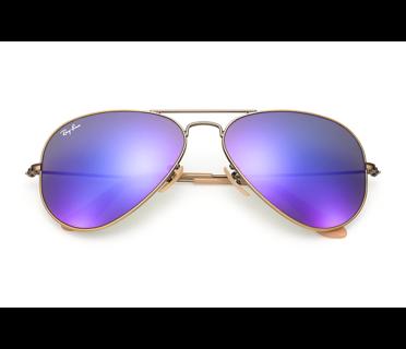 ray ban model rb3025  Frame Color: Brushed Bronze Lens Color: Purple Mirrored Model: RB ...