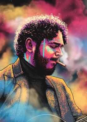 Hip hop artwork