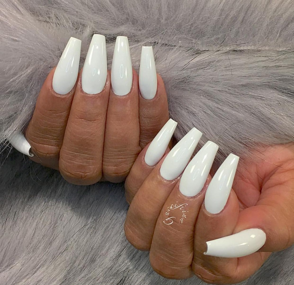 Pin by Kat Staxx on Nail\'d It!   Pinterest   White manicure, Double ...