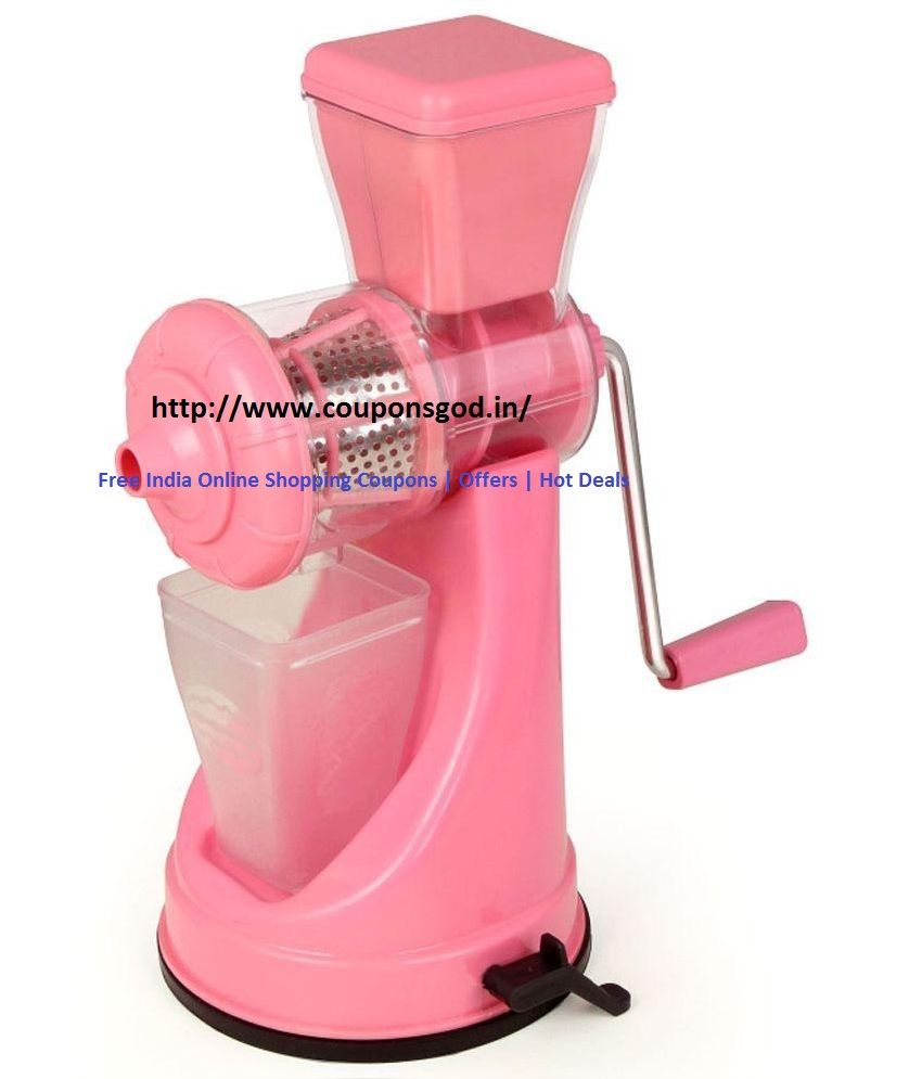 Uncategorized Snapdeal Kitchen Appliances Coupons class fruit and vegetable pink juicer steel handle snapdeal offers deals fruit