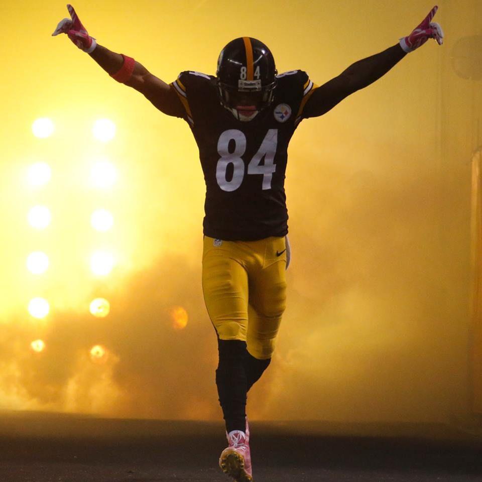 Antonio Brown Pittsburgh Steelers Pittsburgh Steelers Football
