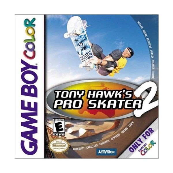 Gameboy Color Tony Hawks Pro Skater 2 Video Game Liked On Polyvore Featuring Electronics Tony Hawk Pro Skaters Tony Hawk Games