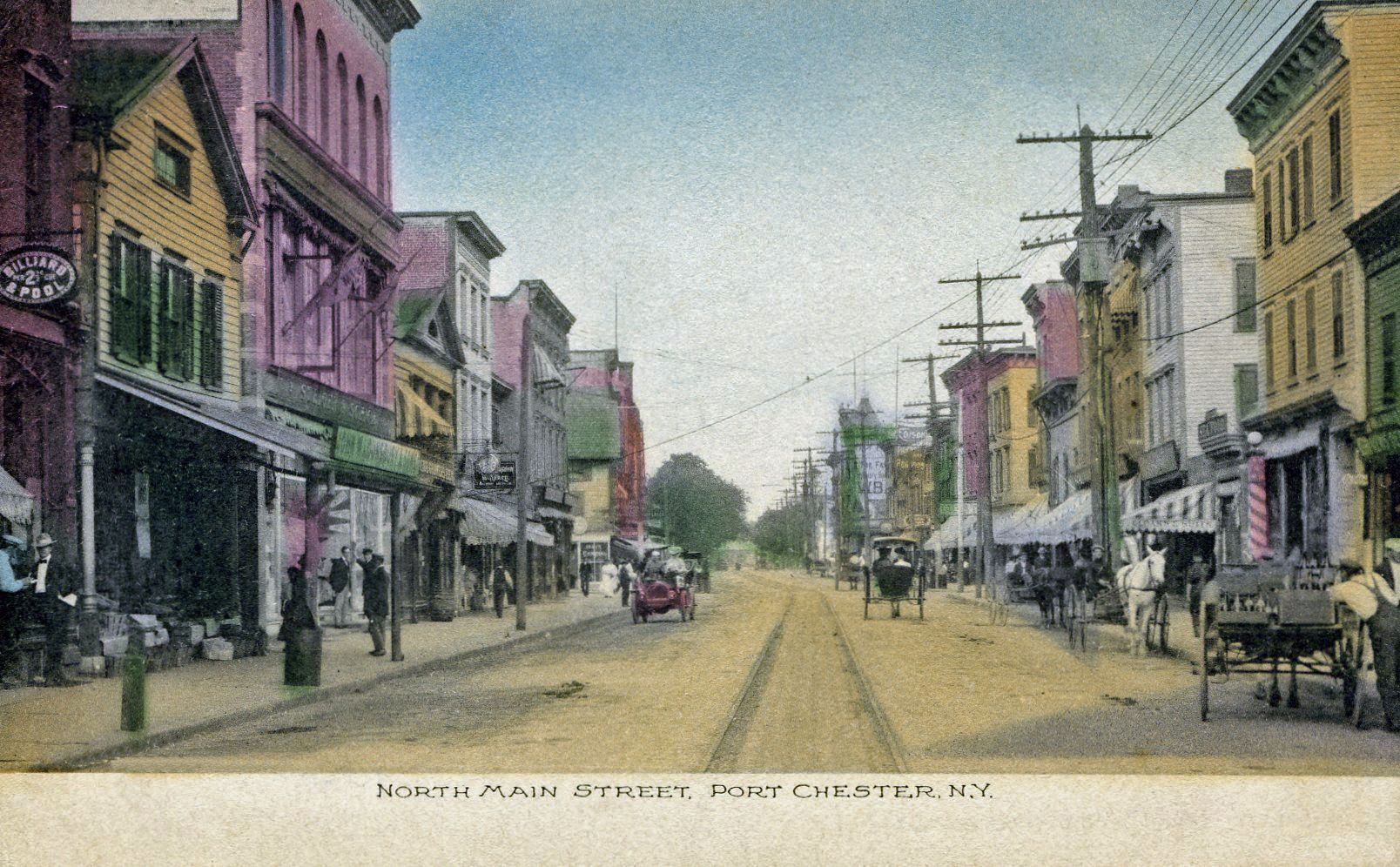 Village Of Port Chester Main Street