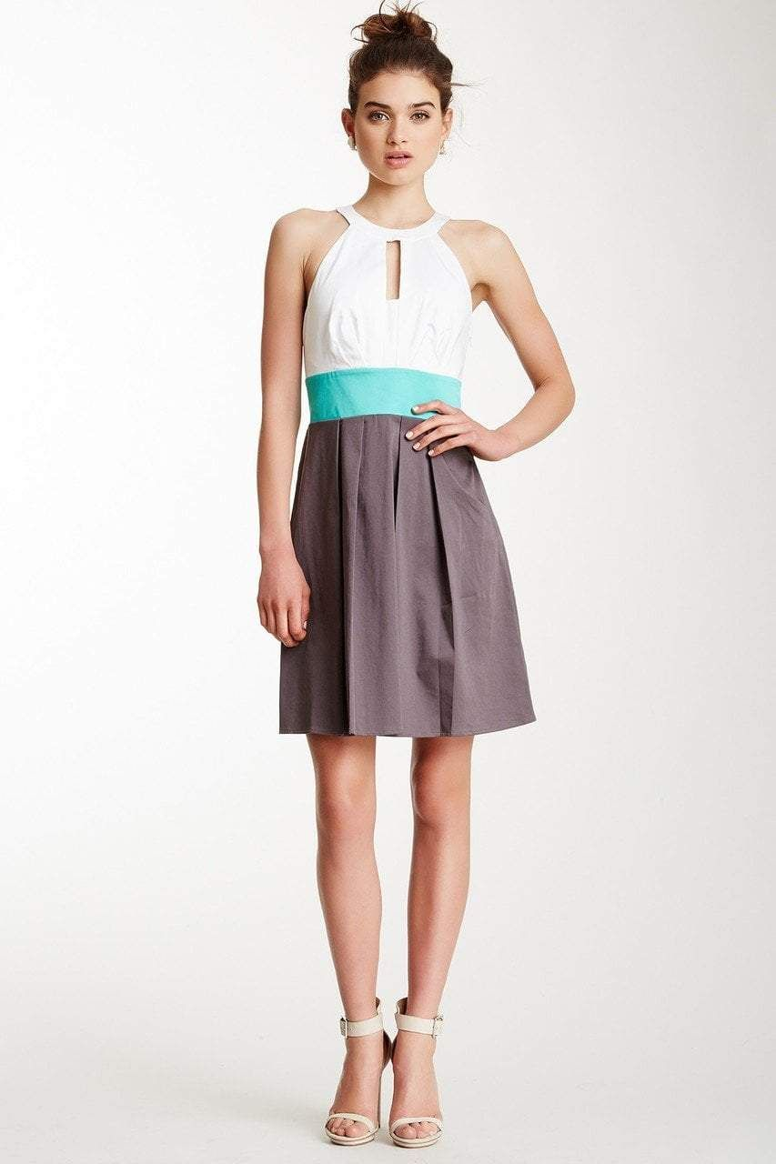 Jessica Simpson Halter Neck ALine Dress JS3A4617 in
