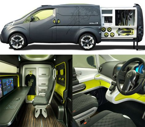 Nissan Nv200 Concept Camping Campers Outdoor Stuff Pinterest