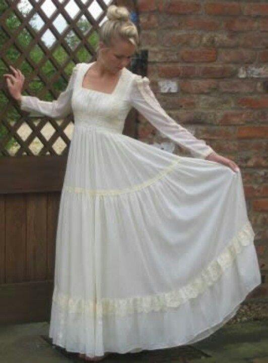 white gunny sack dress | Gunny Sack Dress-These are so pretty, I ...