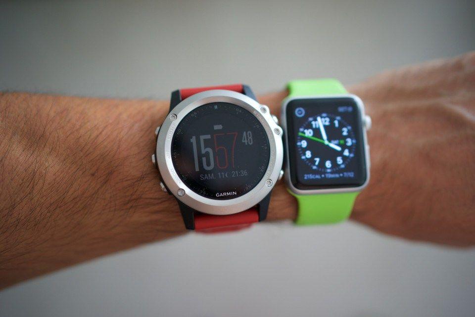 Apple Watch 2 Vs Garmin Fenix 3 Hr Fitness Watch Combat