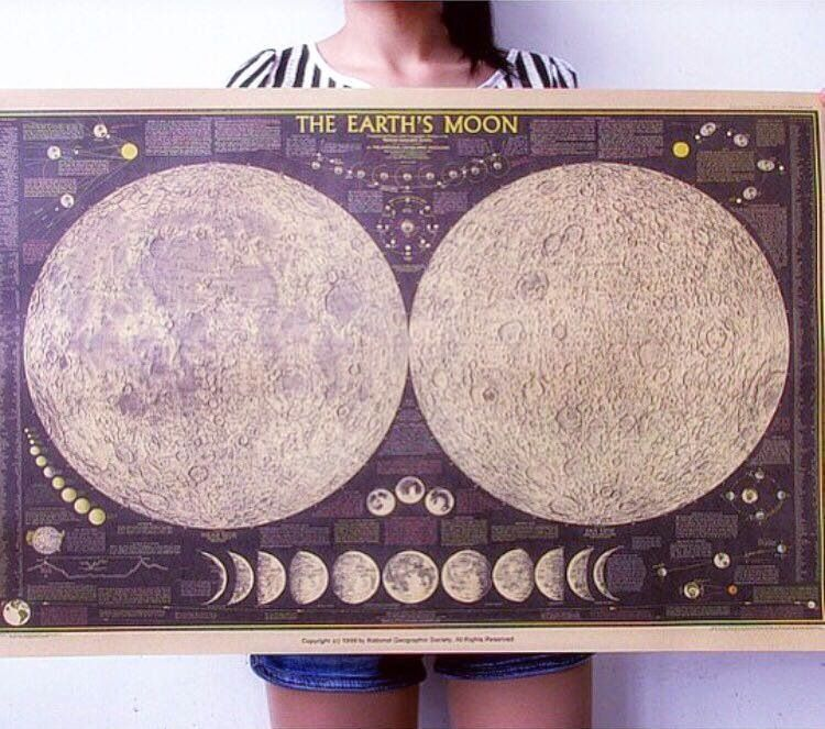Learn about our Earth's Moon with our beautiful posters. Includes info on - Moon gods