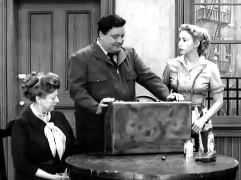 Funny Skit From The Honeymooners Honeymooners Tv Tv Shows Funny