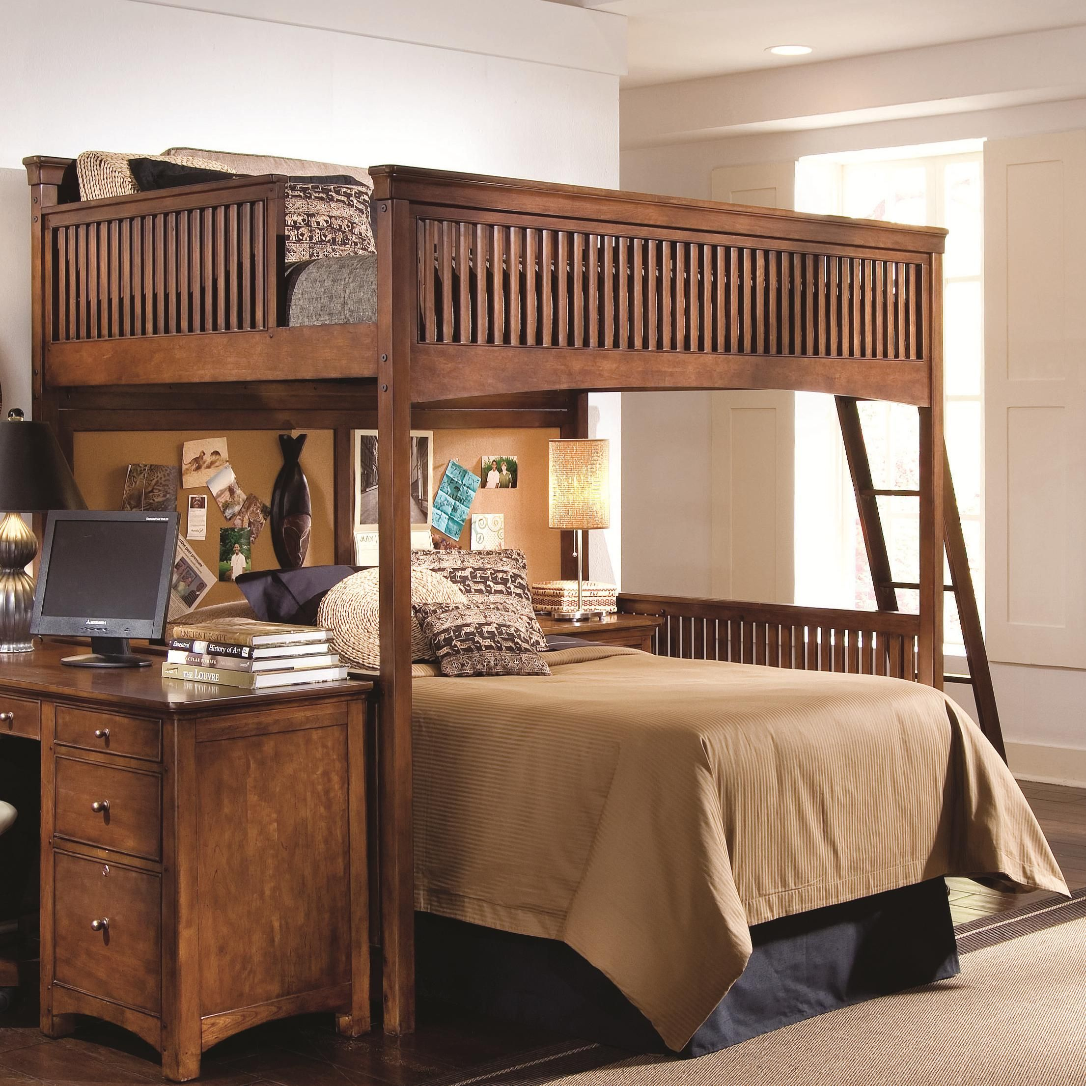 Beautiful Elite   Crossover Full Loft Bed By Lea Industries