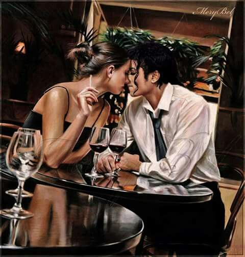 Romantic Photoshop for fans of Michael Jackson by Mery Bel