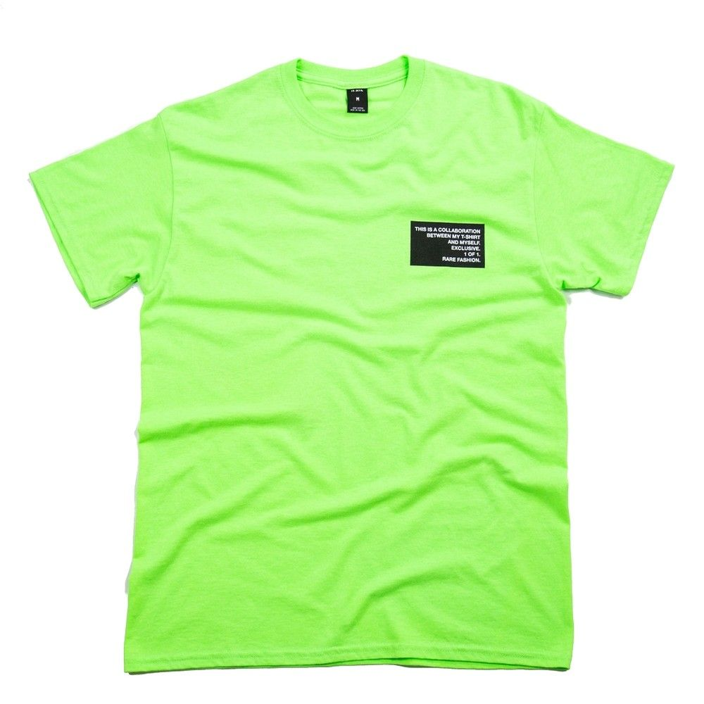 8572a14050 10 Deep Collab Tee (Neon Green) TOPS S/S at Hyde Park | style | Mens ...