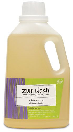 Zum Clean Aromatherapy Laundry Soap Is A Chemical Free Laundry