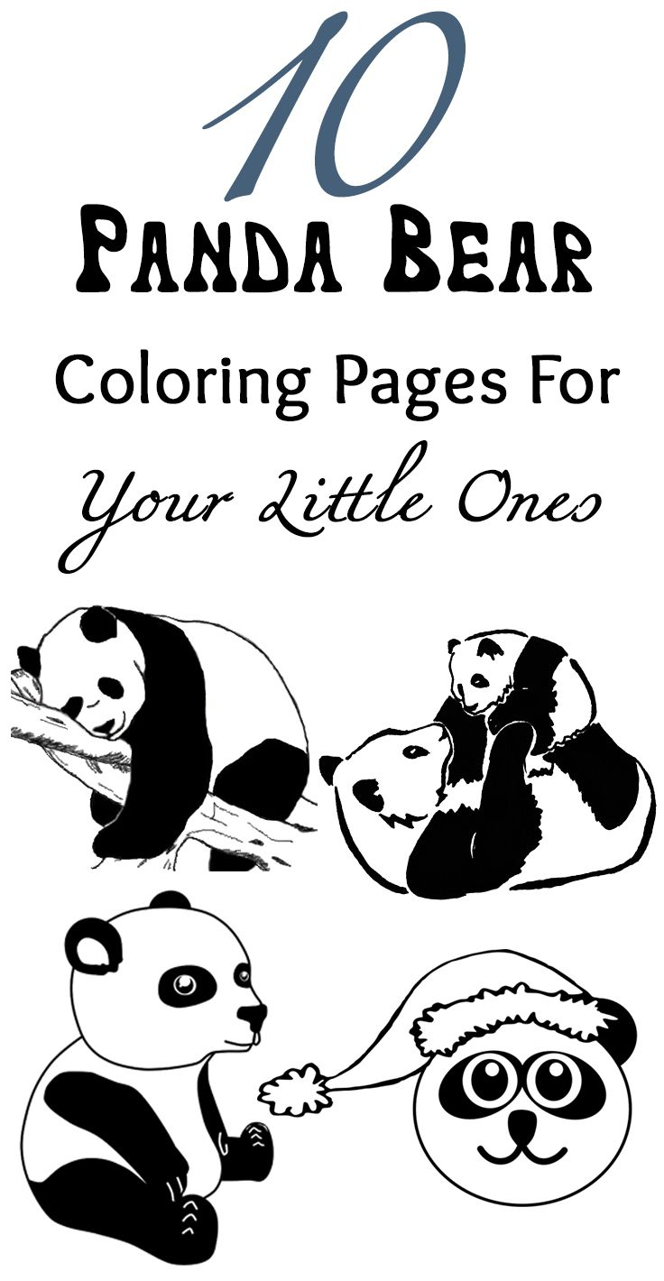 Top 25 Free Printable Cute Panda Bear Coloring Pages Online Bear Coloring Pages Panda Coloring Pages Cute Coloring Pages