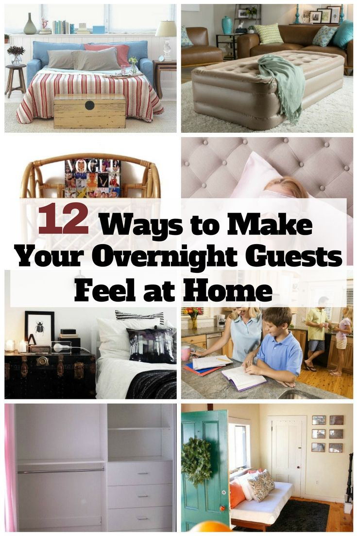 12 Ways to Make Your Overnight Guests Feel at Home images