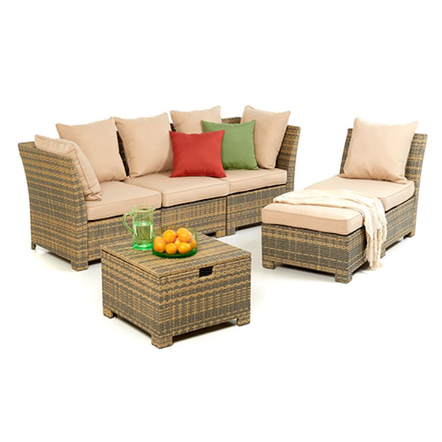 Wicker Modular Seating Set