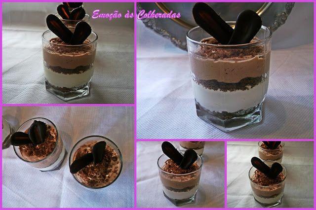 Emoção às Colheradas: Taça de Chocolate e Mascarpone