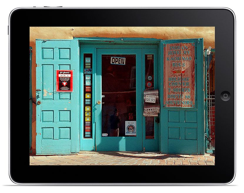 Old Town, Albuquerque Website Design for Smartphones and Tablets