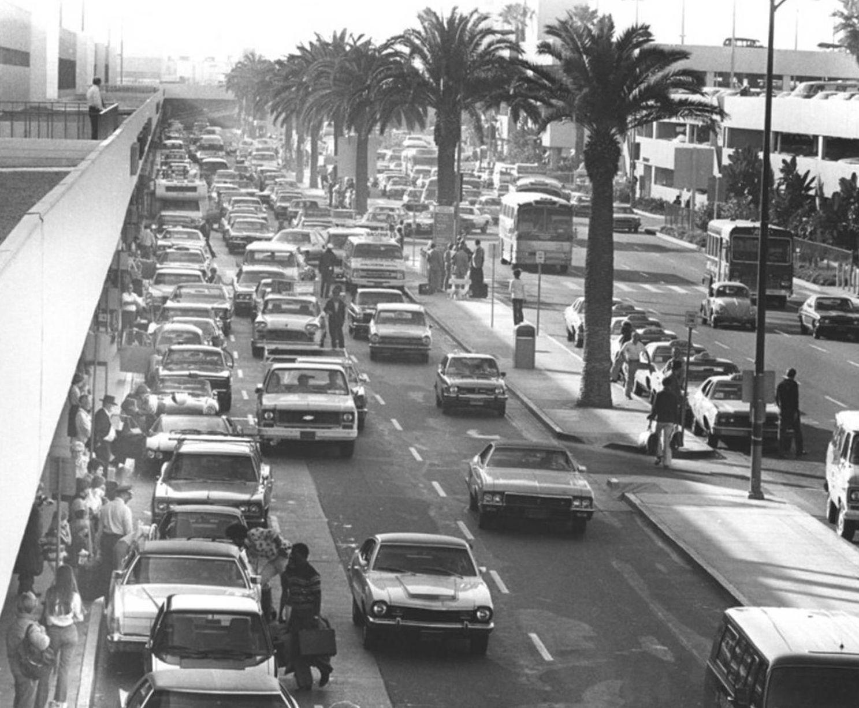 Lax 1976 Los Angeles Airport Los Angeles International Airport Los Angeles History