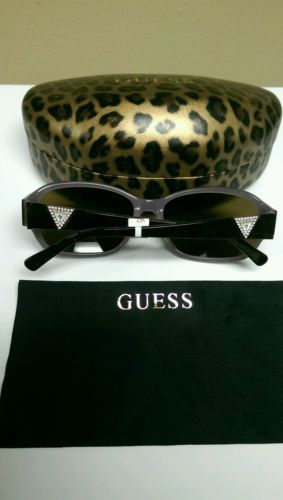 New Authentic Guess 7265 Jewelled Sunglasses Retail $120!!