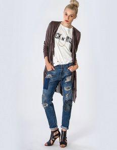 Jacket with fringes  7655c852d69