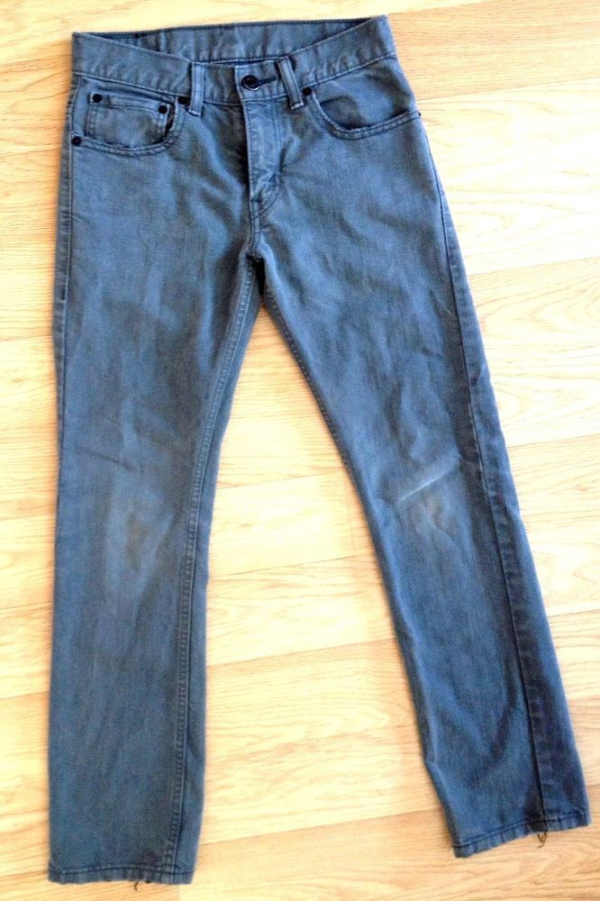 Details about Levi's Womens Skinny Jeans 12 Gray 511 Red Tab low ...