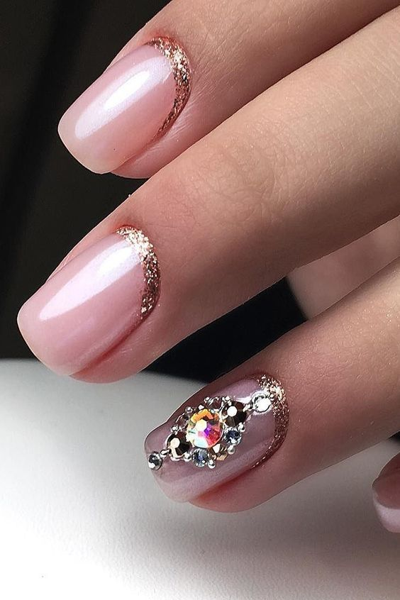 34 Classy Wedding Nail For Bride | Nails | Bride nails ...