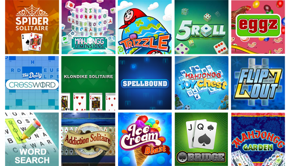 AARP Game icon grid in 2020 Fun online games, Free