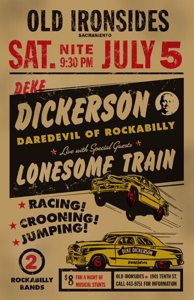 Deke Dickerson by Brent Rector