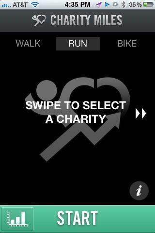 Charity Miles App Put Your Walking Running Biking Miles Toward A