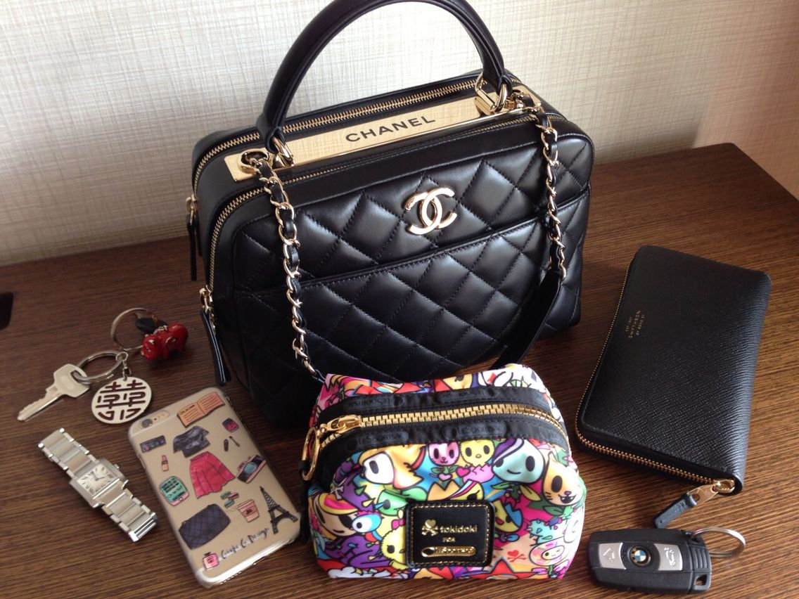 245912a6934f Chanel Trendy CC Dual Handle Bowling Bag. Pre-Spring 2014 Collection Act 1.