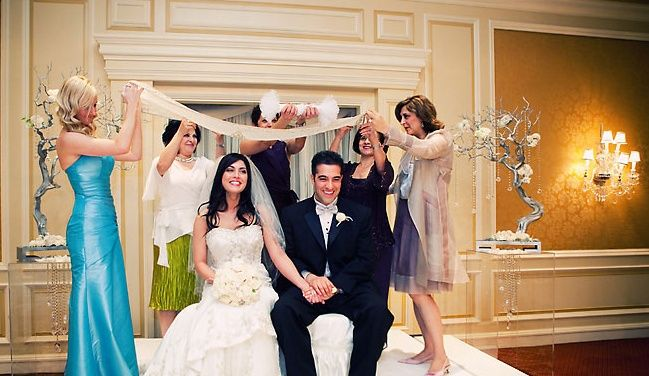 A Lovely Persian Iranian Wedding Ceremony Traditional Cloths Of