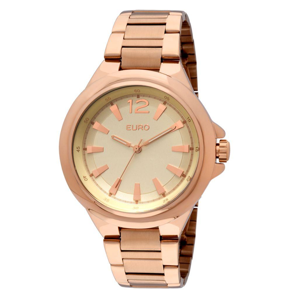 Relógio Euro Feminino Analógico Poznan EU2035LQN 4X - Rose Gold - euro 45c21adf5b