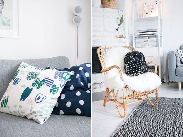 Chair & pillows