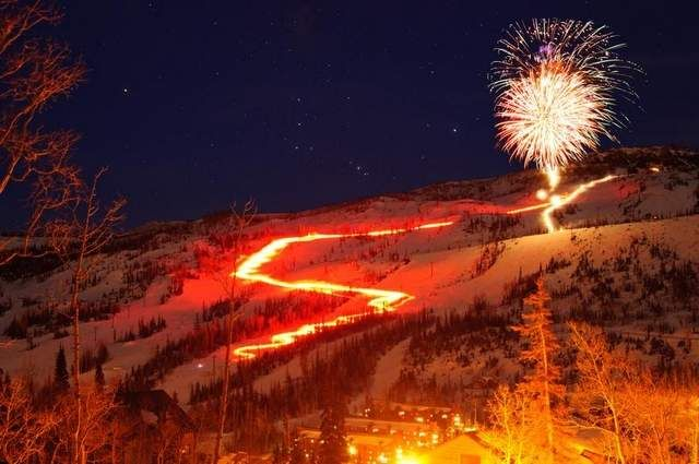 Brian Head Resort's New Year's Eve tradition of the Torchlight Parade begins after sunset Tuesday.