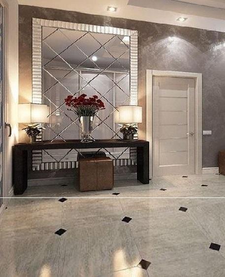 plain full length wall mirror for hallway - Google Search ...