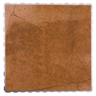 """SnapStone Classic Standard 18"""" x 18"""" Porcelain Field Tile in Ferrous"""