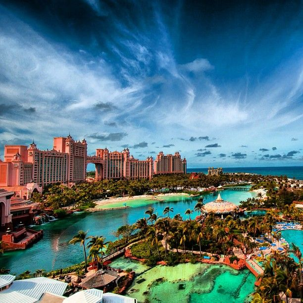 Paradise Island Bahamas Beaches: Atlantis Resort In Nassau Paradise Island, The Bahamas In