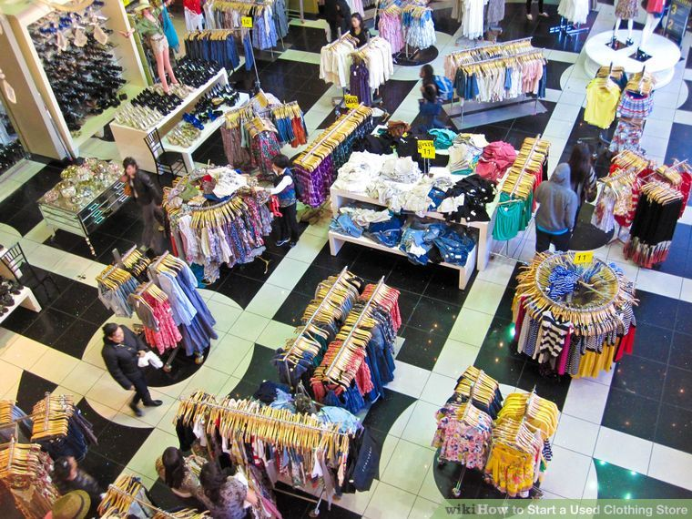 Start a Used Clothing Store Second hand clothing stores