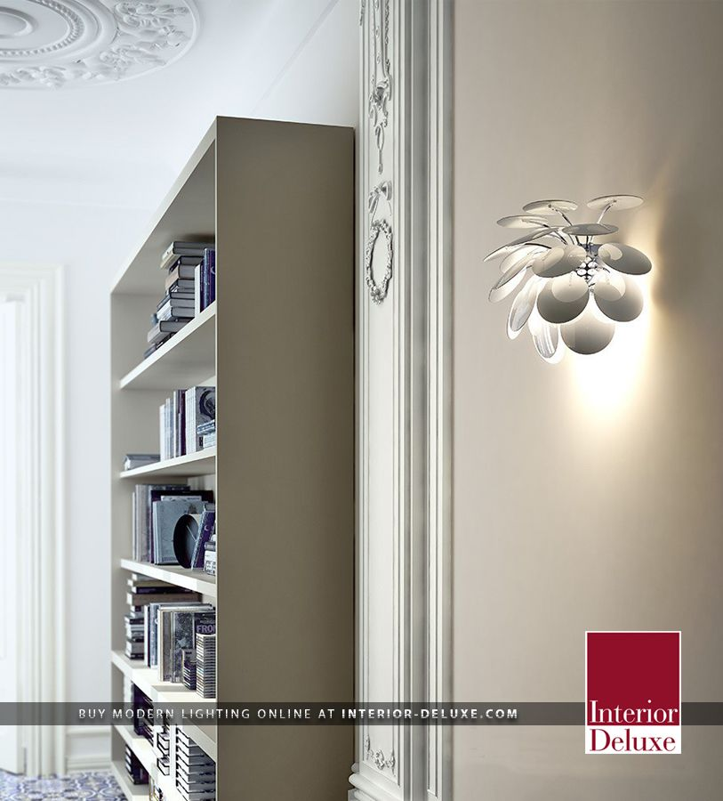 Discoco a Wall Sconce - Marset  Shop Online At http://www.interior-deluxe.com/discoco-a-wall-sconce-p12982.html  #ModernLighting