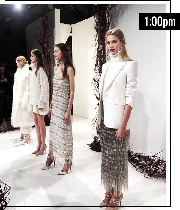 Day in the NYFW Life: Hillary Kerr's Non-Stop Fashion Experience | E! Online