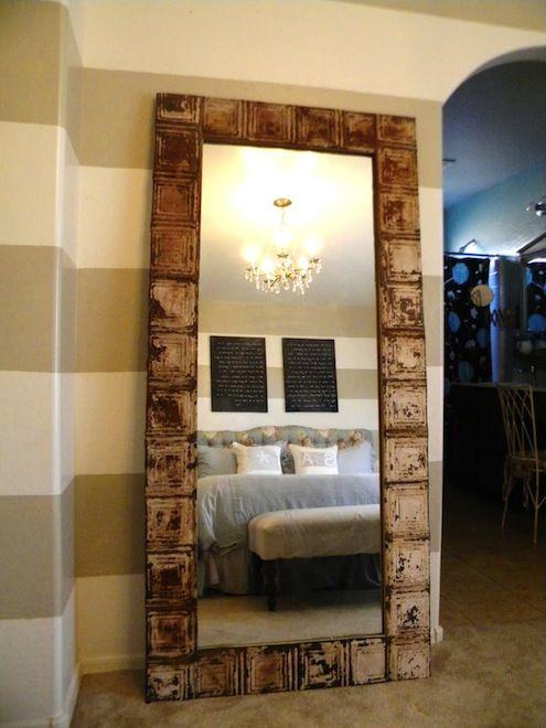 تزيين مرايا يدوي رااائع وسهل Easy DIY Mirror Frames