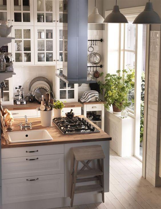 3 Charming Tiny Kitchen | via IKEA | ikea küche | Pinterest | Cucine ...