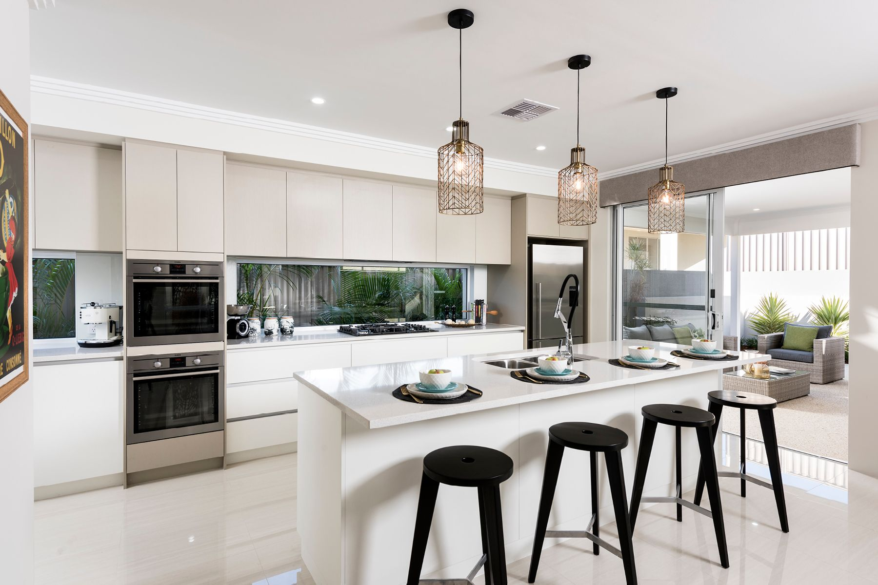 The Emerson  Ben Trager Homes Perth Display Home Kitchen - Display home interiors