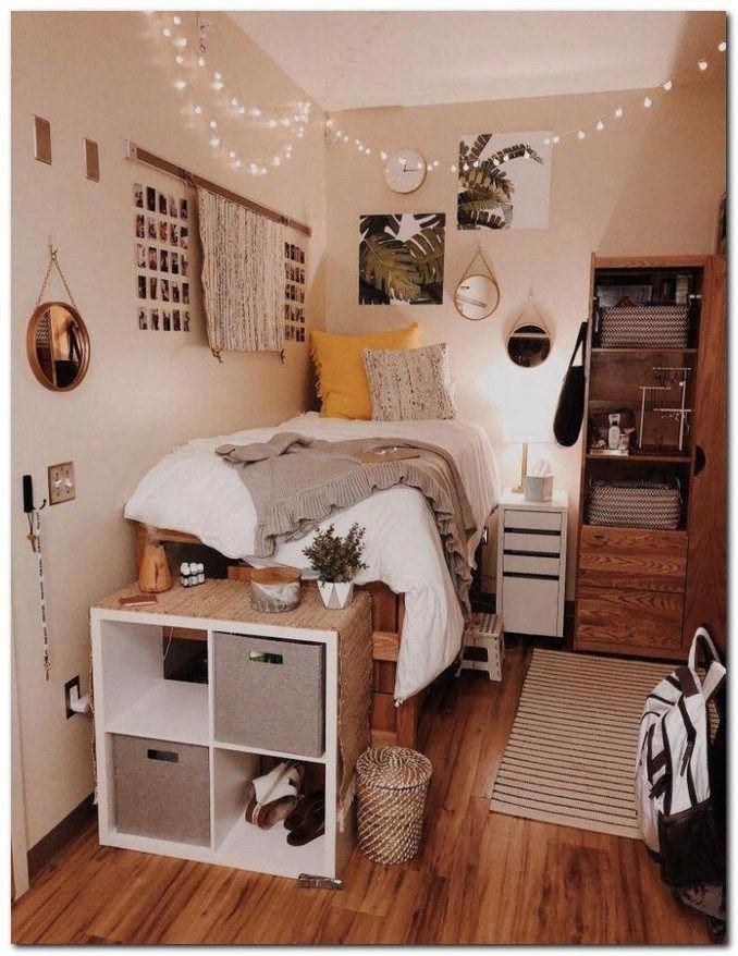 Photo of 40 lindas ideas de decoración de dormitorio para chicas que necesitas …