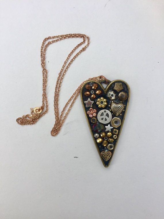 Micro Mosaic Pendant Mosaic Jewelry Valentine by camillaklein